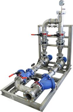 Гидромодуль теплообменники Водоводяной подогреватель ВВП 09-168-2000 Зеленодольск